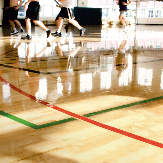 sports floor renovation services UAE Dubai