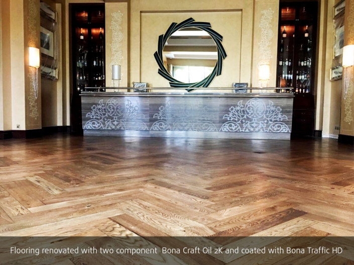 wooden flooring in Dubai