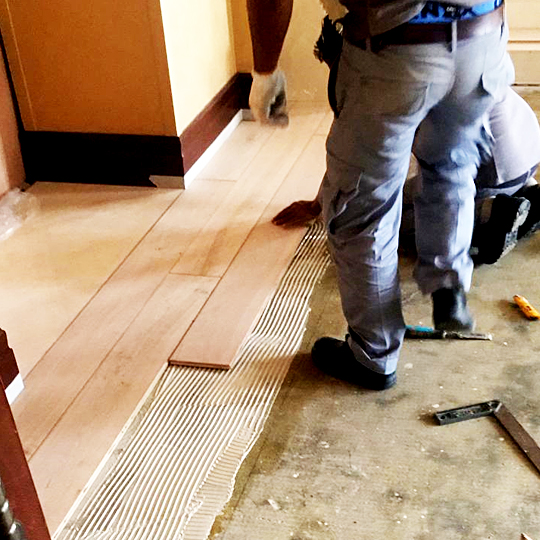 Wood Floors in Dubai UAE